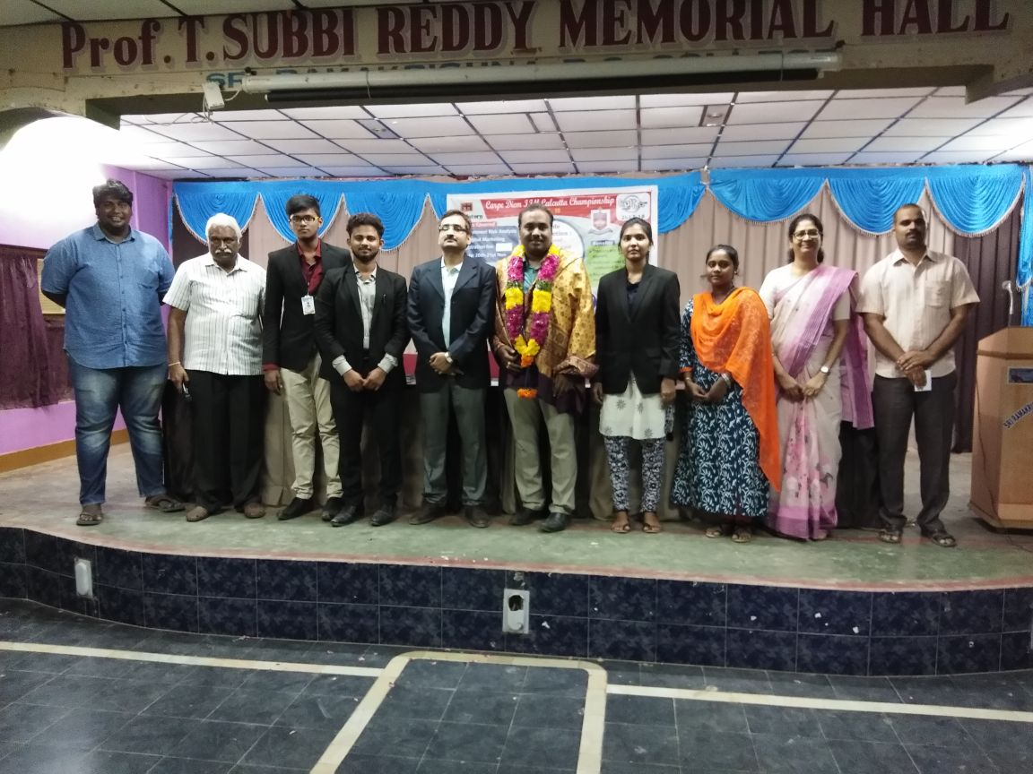 Digital Marketing Workshop at Sri Ramakrishna Degree College Nandyal